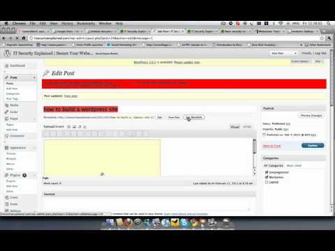 Day 4 - [wordpress tutorial], google analytics