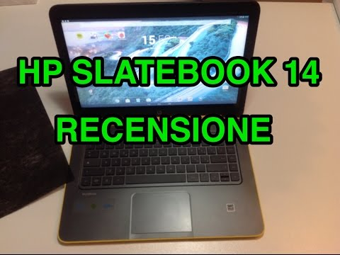 HP SlateBook 14 - recensione di Tecnoandroid.it