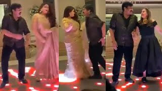 Viral Video: Chiranjeevi Dance With Actress Kushboo @ Private Party - TFPC