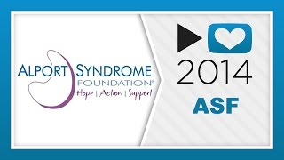 P4A 2014: Alport Syndrome Foundation