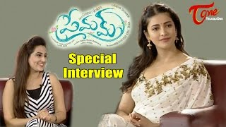 Sruthi Hassan Special Interview About Premam Movie | Dasara Special Interview | #Premam - TELUGUONE