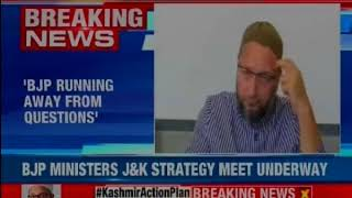 AIMIM Chief Owaisi speaks on ceasefire, says J&K government has been complete failure - NEWSXLIVE