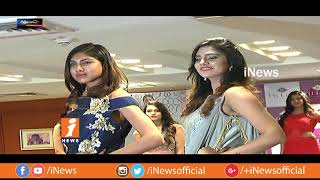 Models Ramp Walk For Hi Life Exhibition In Hyderabad | Metro Colours | iNews - INEWS