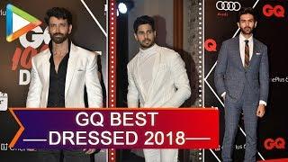 GQ Best Dressed Awards 2018   UNCUT   PART 2   Hrithik Roshan   Sidharth   Kartik Aaryan - HUNGAMA