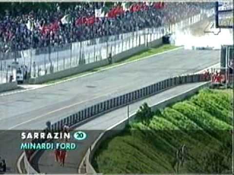 Stéphane Sarrazin balesete - Stéphan Sarrazin crash