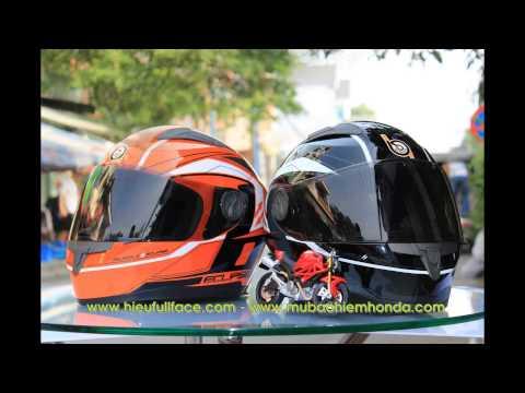 Những chuyến đi dài - Mũ bảo hiểm moto
