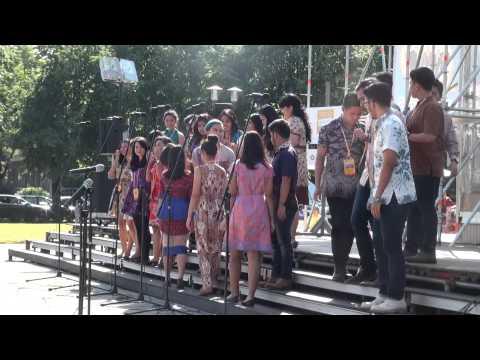 World Choir games 2014. Riga. The London School of Public Relations Choir (18.07.2014 no 16.00)