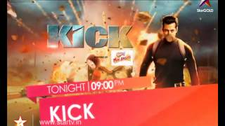 Watch Superstar Salman Khan on Kick, tonight at 9 PM only on Star GOLD! - STARGOLD