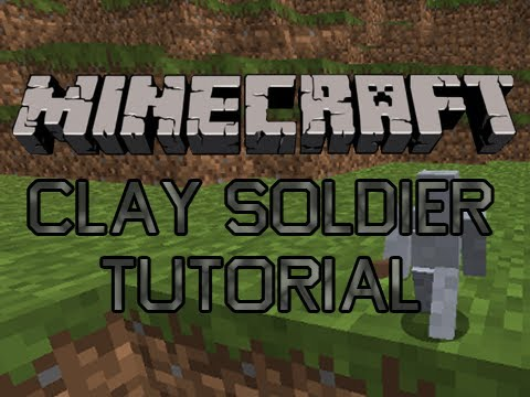 How to install Clay Soldiers Mod for Minecraft [Updated to 1.8.1]