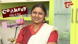 Cookery Tips & FAQs | How To Make Soft idli - TELUGUONE