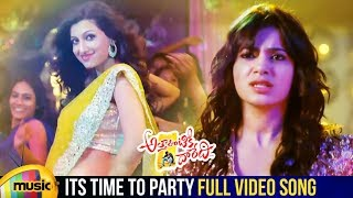 Attarintiki Daredi Movie | Time To Party Full Video Song | Pawan Kalyan | Samantha | DSP - MANGOMUSIC