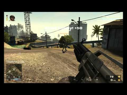 Battlefield Play4Free Elite's USAS-12 Gameplay [21-3]