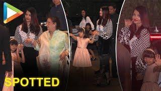 Aishwarya Rai Bachchan and family spotted at Yauatcha BKC for dinner - HUNGAMA