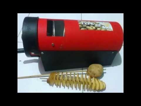 MESIN Pisau ulir kentang mesin kentang spiral 081222620256 surabaya malang jogja