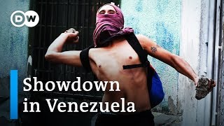 Venezuela: Military, opposition clash at Colombia border | DW News - DEUTSCHEWELLEENGLISH