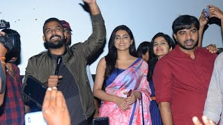 Meeku Matrame Cheptha Movie Team Theater Visit In Hyderabad - TFPC