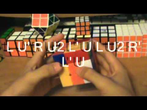 como armar el cubo de rubik F2L expertos (4/4)