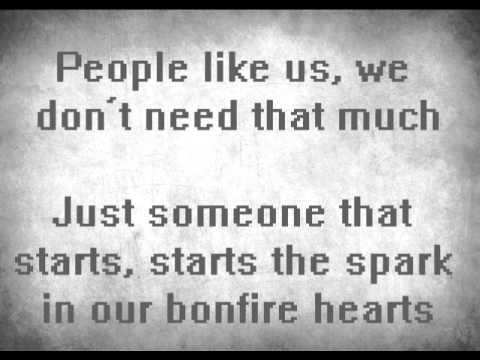 James Blunt - Bonfire Heart (Lyrics)