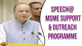 Arun Jaitely Speech at MSME Support & Outreach Programme in Delhi | Modi Latest News | Mango News - MANGONEWS