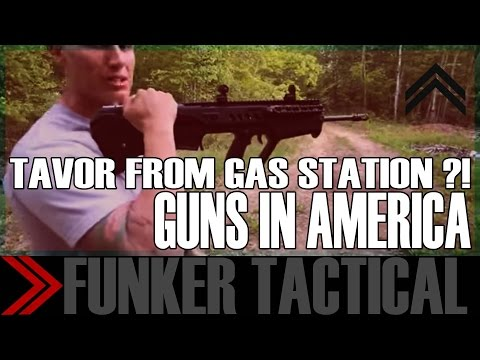 Buying A TAVOR Battle Rifle From A Gas Station?! | Guns In America