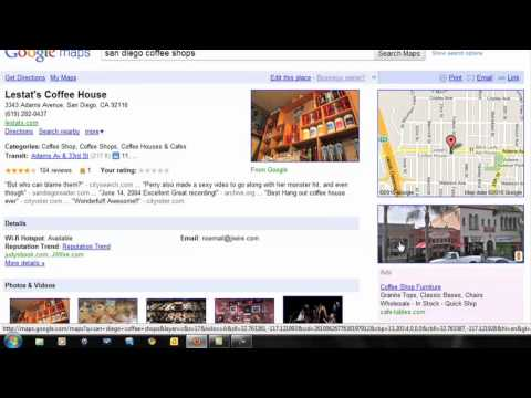 How to Get on Google Maps, Yahoo Local, and Bing Local Listings What Is Local Search Optimization