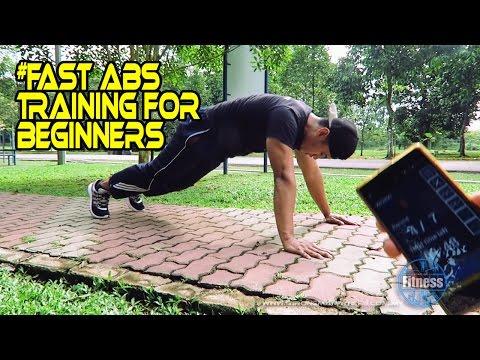 Fast Abs Workout dalam 3Minit | Untuk Beginner | Strongman Fitness