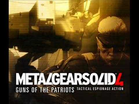 Metal Gear Solid 4 OST (Disc 2) Track 24 - Unmanned Army