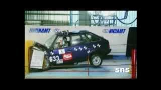 Краш тест Русских авто Мегасборка краш тестов sns channel