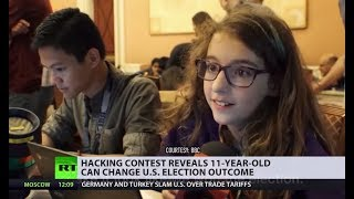Very secure system... not: 11yo can change US election outcome (and no, she's NOT from Russia) - RUSSIATODAY
