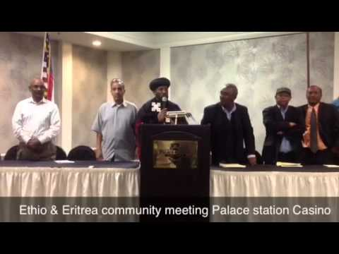 Part 2 Ethio & Eritrea community meeting Palace station Cas