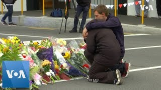 New Zealanders mourn after mosque shootings - VOAVIDEO
