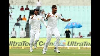 India Vs Sri Lanka 1st Test: India all out for 172 - ABPNEWSTV