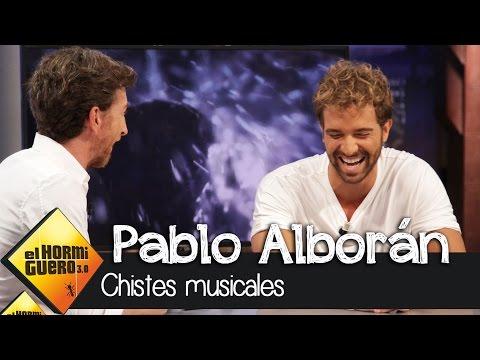 Pablo Alborán canta chistes en 'El Hormiguero 3.0'