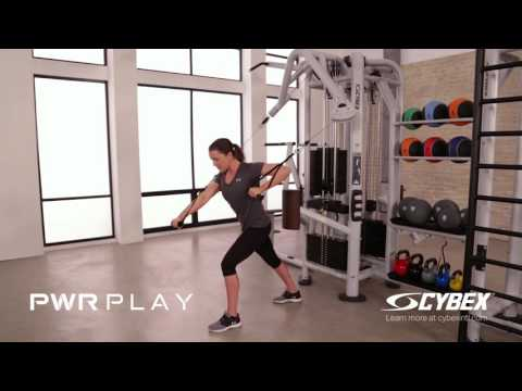 Cybex PWR PLAY - Reciprocal Unsupported Chest Press