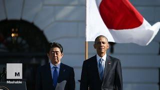 فيديو| أوباما: شكرا لليابان على الكاراتيه