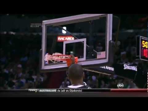 UNREAL: LeBron James JUMPS OVER John Lucas III for the Alley-Oop Dunk (Jan. 29, 2012), in HD