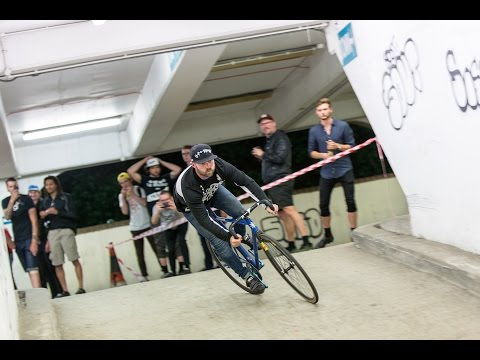 Gnarpark: Fixed Gear Car Park Racing | Way Past Midnight