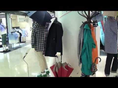 【阪急百貨店】メンズ館『マッキントッシュフィロソフィー』rainwear