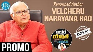 Renowned Author Velcheru Narayana Rao Interview - Promo || Akshara Yathra With Mrunalini - IDREAMMOVIES