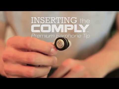 How to Insert COMPLY Eartips to NOIZY Wireless Earbuds