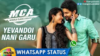Yevandoi Nani Garu Song WhatsApp Status Video | MCA Movie Songs | Nani | Sai Pallavi | Mango Music - MANGOMUSIC