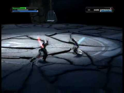 Star Wars The Force Unleashed: Jedi temple level part 3/3