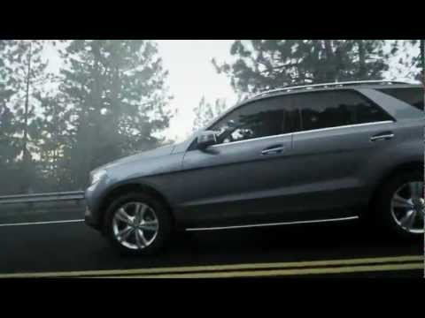 "Mercedes 2012 M-Class ""Most Advanced SUV Ever"""