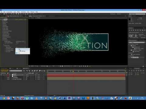 After Effects Trapcode Form Tutorial -l0zkoVHhhAk