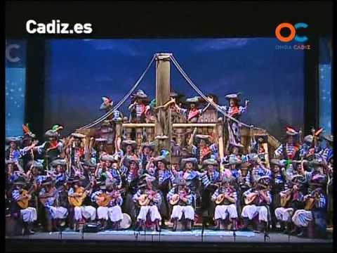 Sesión de Cuartos de final, la agrupación Los cabrones actúa hoy en la modalidad de Coros.