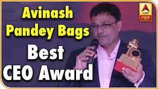 ABP News' Avinash Pandey bags best CEO award at ENBA - ABPNEWSTV