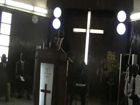 Dr  Simon Yuot speaking Christmas Khartoum 2012 25 12 003