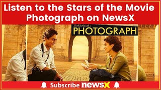 Team Photograph on NewsX, Listen to the Stars of the Movie; Nawazuddin Siddiqui, Vijay Raaz - NEWSXLIVE