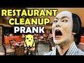 Asian Restaurant Cleanup Prank - Ownage Pranks