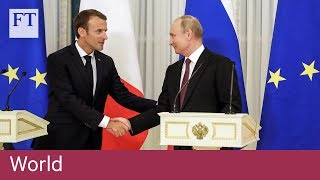 Putin supports Macron attempt to save Iran deal - FINANCIALTIMESVIDEOS